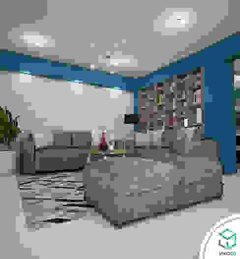 Sala: Salas / recibidores de estilo  por Spacio5, Moderno