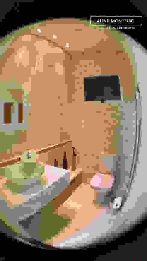 Lavabo Banheiros modernos por Monteiro arquitetura e interiores Moderno