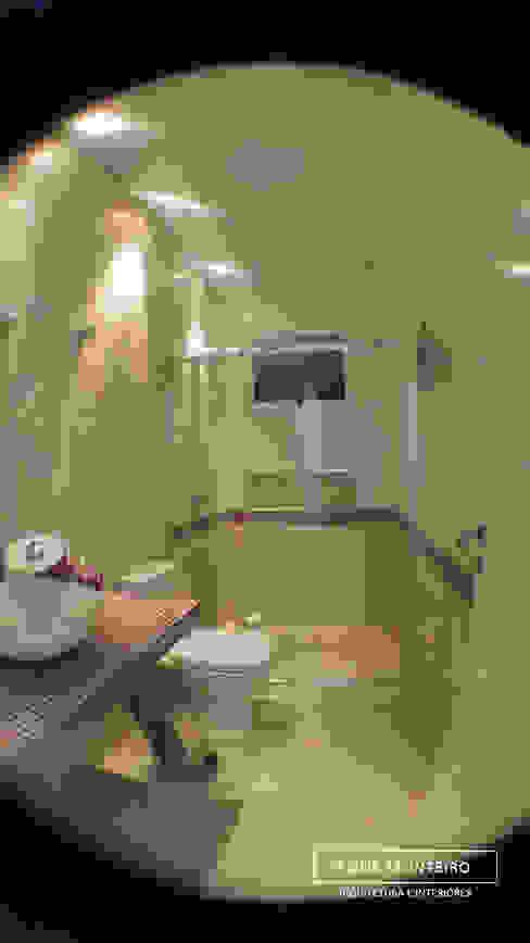 Banheiro Banheiros modernos por Monteiro arquitetura e interiores Moderno
