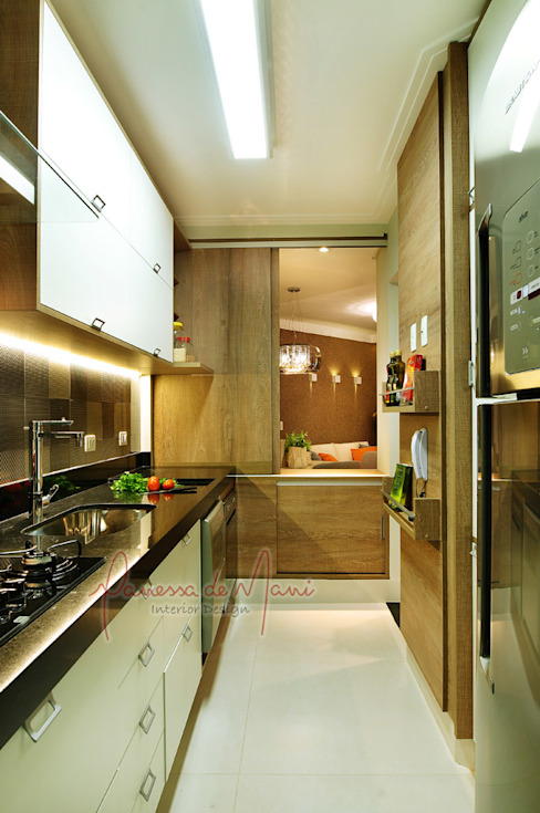 مطبخ تنفيذ Vanessa De Mani