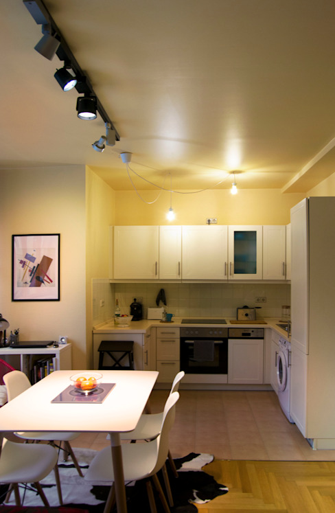 Decoración interior de vivienda en Berlín Modern Yemek Odası garcia navalon arquitecto Modern
