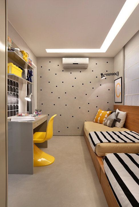 Bedroom by Gisele Taranto Arquitetura,