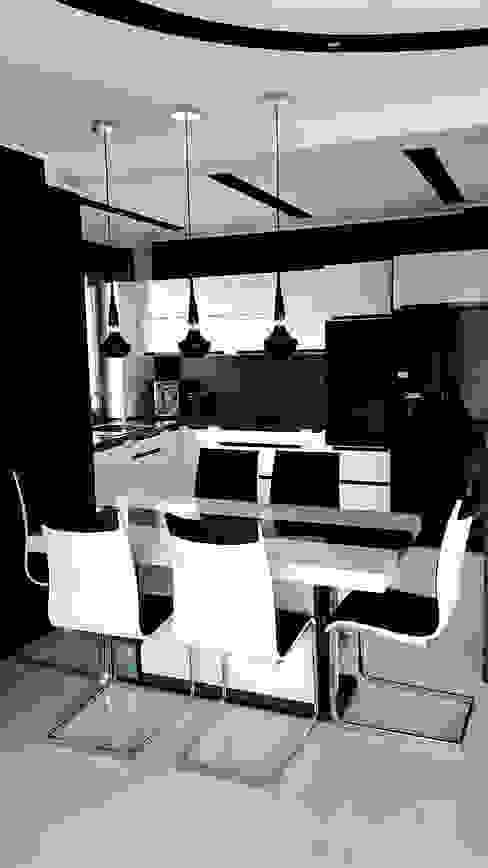 Moderne Esszimmer von Biuro Projektów MTM Styl - domywstylu.pl Modern