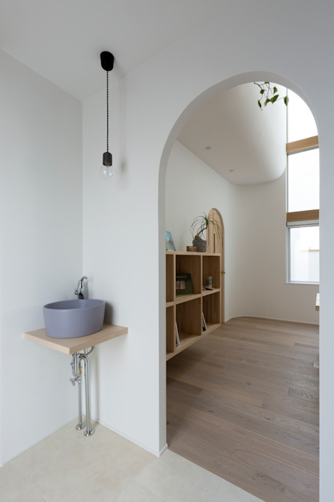 Scandinavian style bathroom by ALTS DESIGN OFFICE Scandinavian Wood Wood effect