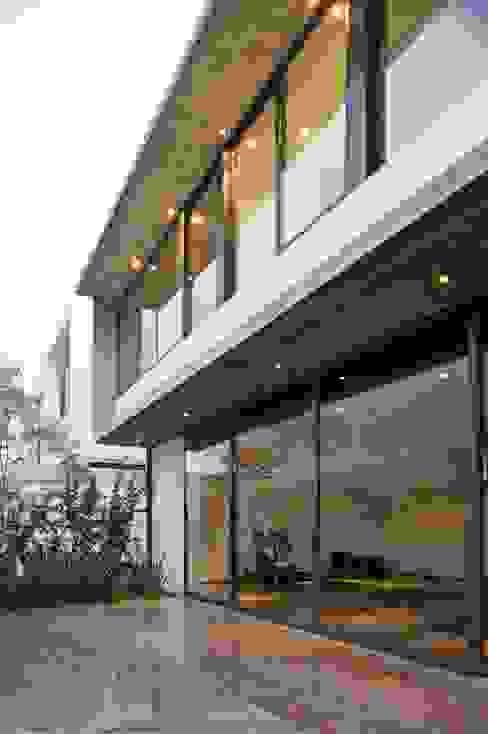 Casa X: Casas de estilo  por Agraz Arquitectos S.C., Moderno