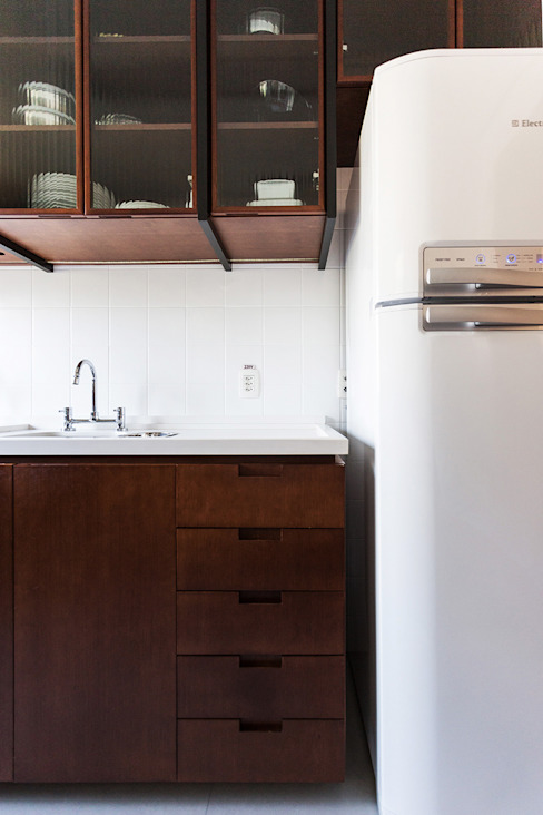 Cocinas de estilo industrial de Ateliê 7 arquitetura e design integrados Industrial