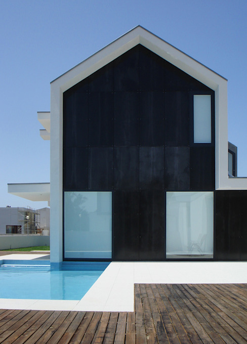 br_house Piscinas modernas por rui ventura   [v2a+e] Moderno