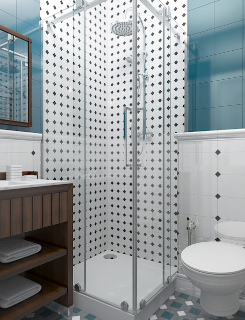Ванная комната в стиле минимализм от homify Минимализм