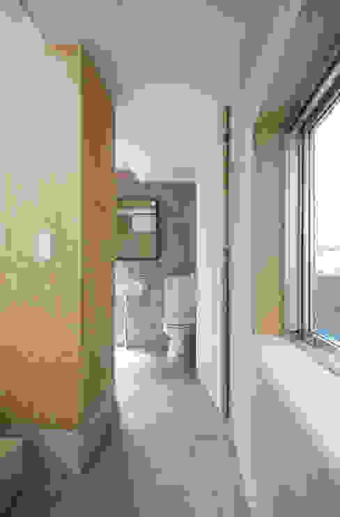 巣箱の家 星設計室 モダンスタイルの お風呂