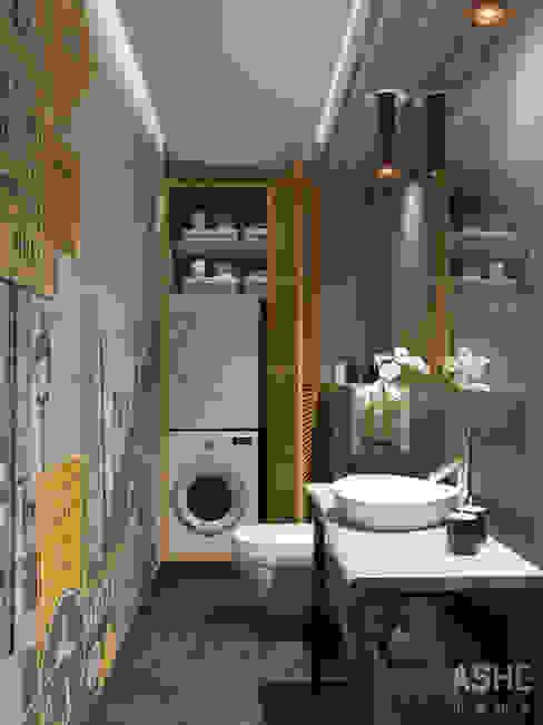 Eklektyczna łazienka od Студия авторского дизайна ASHE Home Eklektyczny