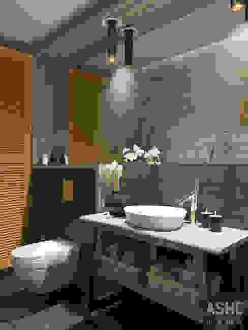 オリジナルスタイルの お風呂 の Студия авторского дизайна ASHE Home オリジナル