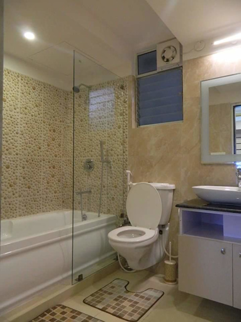 Exotic Bathroom: modern  by Elegant Dwelling,Modern Tiles