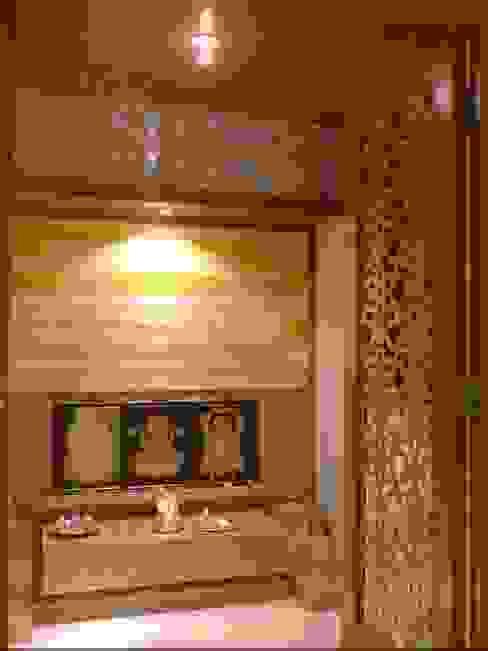 Mallika Seth Industrial style living room