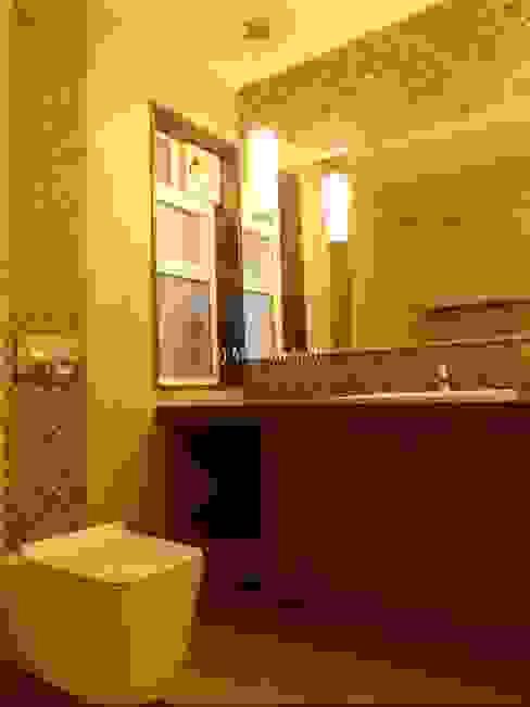 Mallika Seth Industrial style bathroom