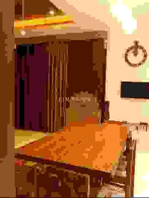 Mallika Seth Industrial style dining room