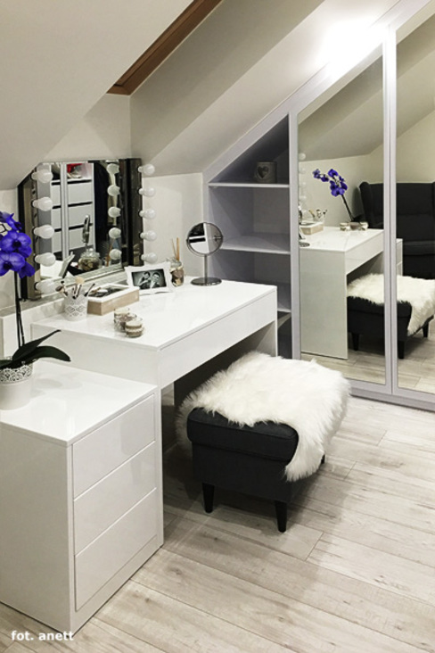 ARCHON+ PROJEKTY DOMÓW Modern style dressing rooms