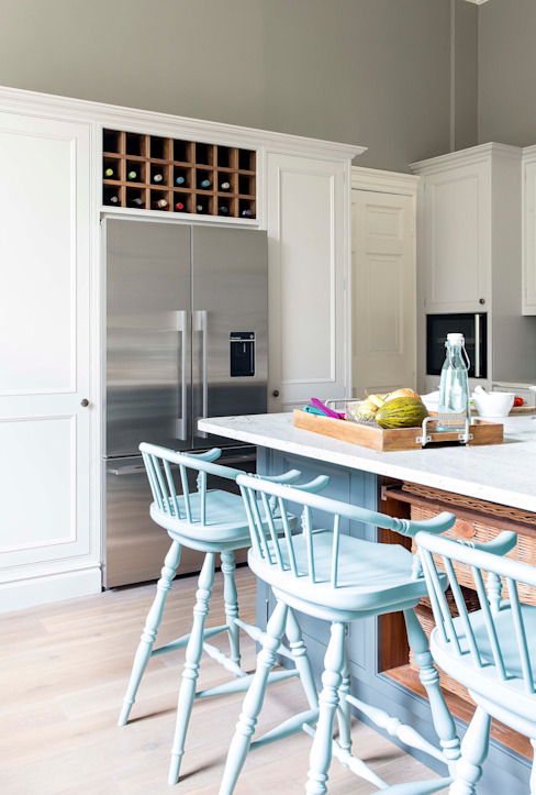 Cocina de estilo  por Sculleries of Stockbridge,