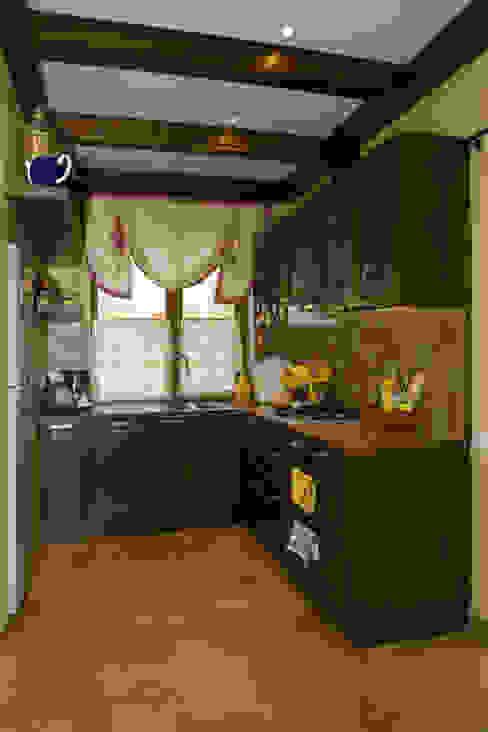 Кухня Кухня в стиле кантри от Бюро9 - Екатерина Ялалтынова Кантри
