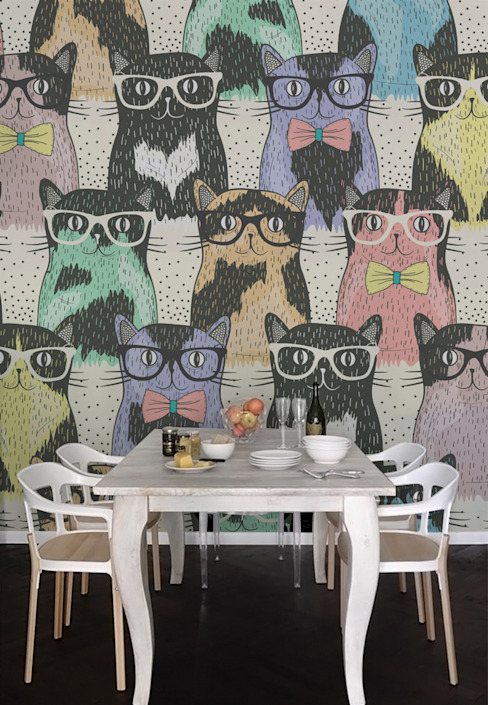 Cats Modern Dining Room by Pixers Modern