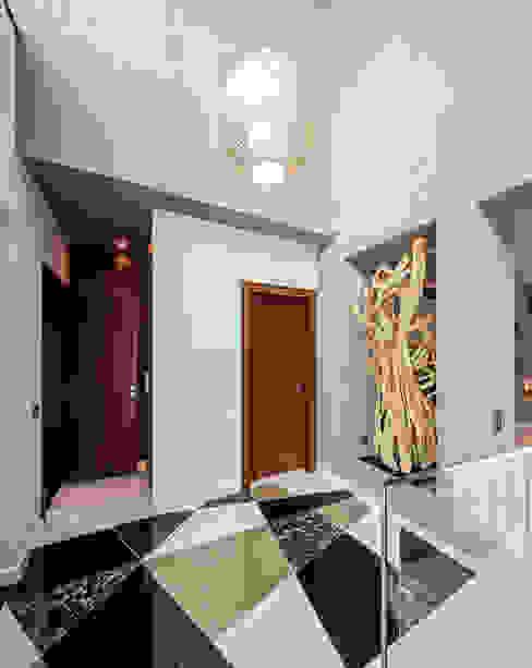 Atelier Ana Leonor Rocha 現代風玄關、走廊與階梯