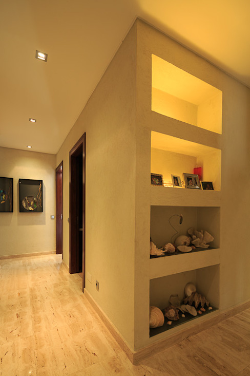 Atelier Ana Leonor Rocha 地中海走廊,走廊和楼梯