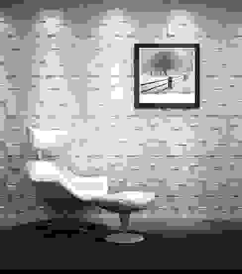Rubik 3D Wall Panel by Twinx Interiors Modern