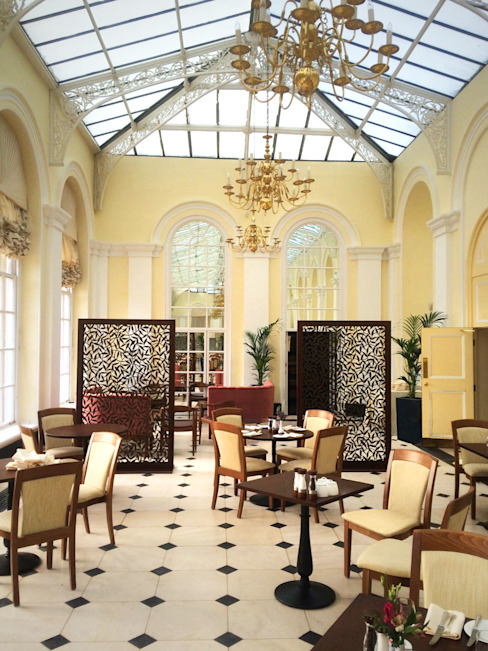 Blenheim Palace Orangery Restaurant. miles and lincoln Commercial Spaces
