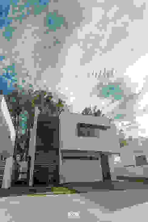 Solares 132 Casas modernas de 2M Arquitectura Moderno