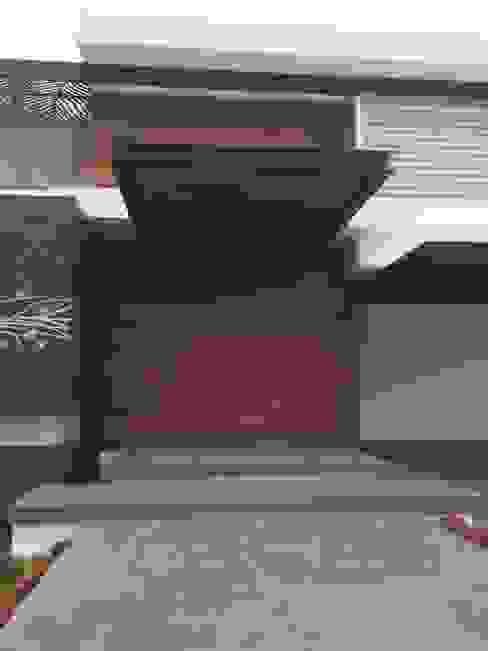 Projekty,  Okna zaprojektowane przez homify, Nowoczesny Drewno O efekcie drewna