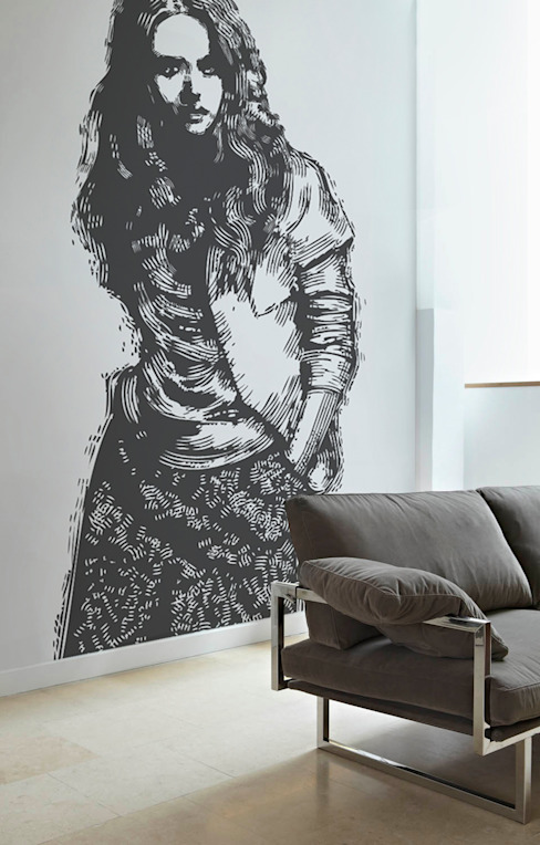 Salas de estilo  por Pixers, Minimalista