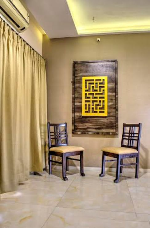 Entrance/Dining Area Modern dining room by Olive Roof Modern