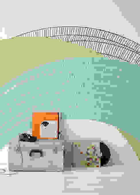 Abstract Circles Salon moderne par Pixers Moderne