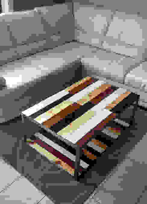 IDEA - Ivan de Angelis Living roomSide tables & trays Iron/Steel Grey