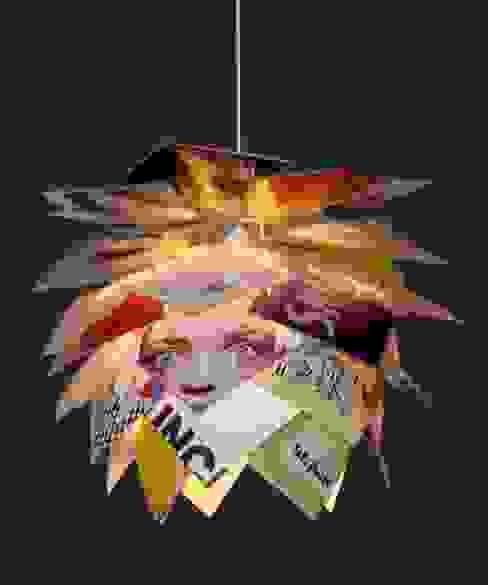 Magazine Pendant Light by Dyberg Larsen von Little Mill House Ausgefallen