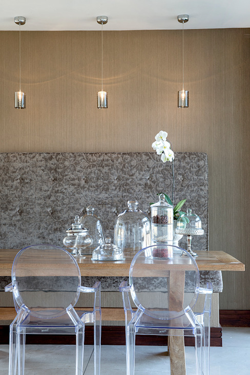 Residence Naidoo Modern dining room by FRANCOIS MARAIS ARCHITECTS Modern