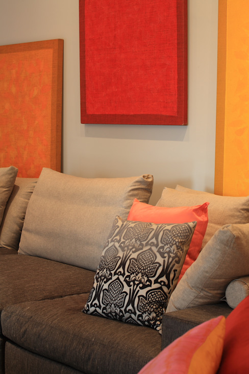 Eclectic style living room by Brunete Fraccaroli Arquitetura e Interiores Eclectic