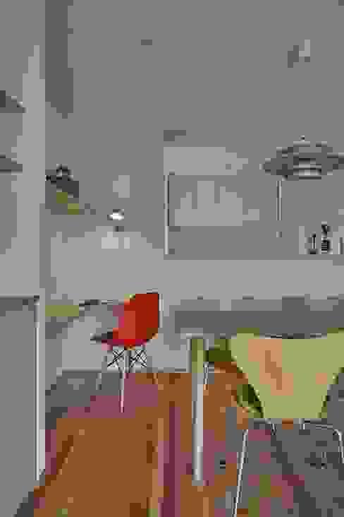toki Architect design office Ruang Makan Minimalis