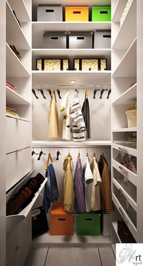 Minimalist dressing room by Арт-Идея Minimalist