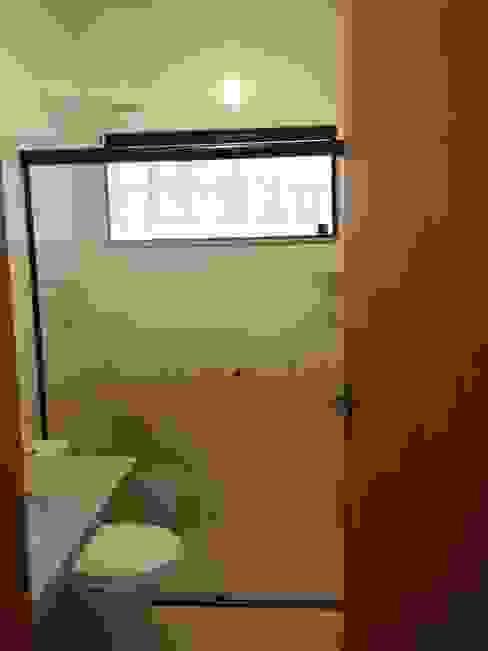 banheiro social Banheiros rústicos por Metamorfose Arquitetura e Urbanismo Rústico