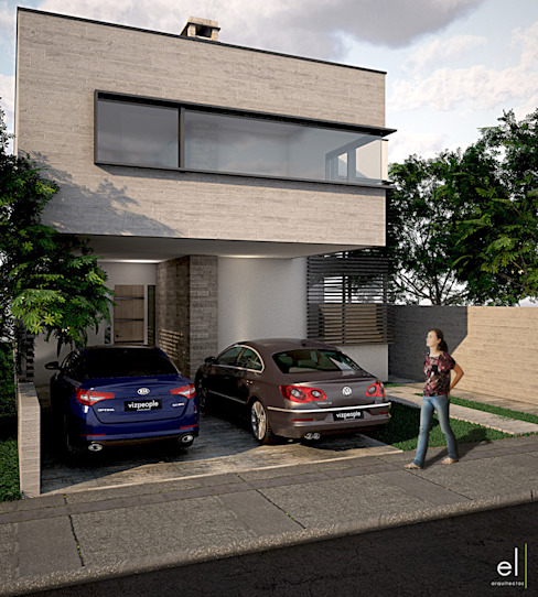 Modern home by ERIKA LIN Modern Stone