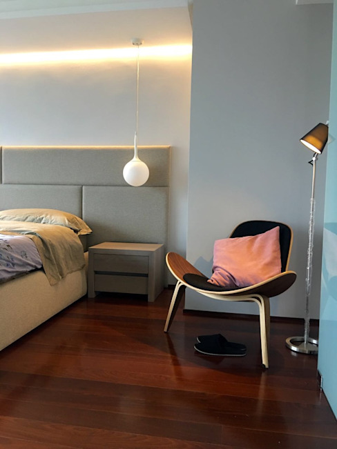 THE muebles Modern style bedroom