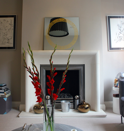 Living room by Alguacil & Perkoff Ltd.