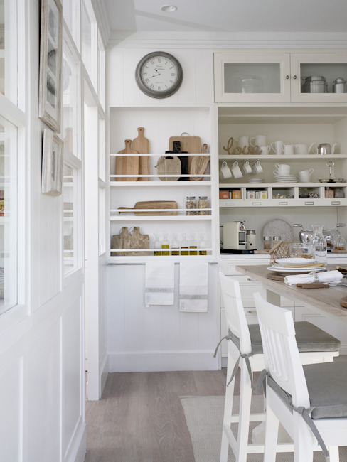 Cozinhas  por DEULONDER arquitectura domestica, Rústico