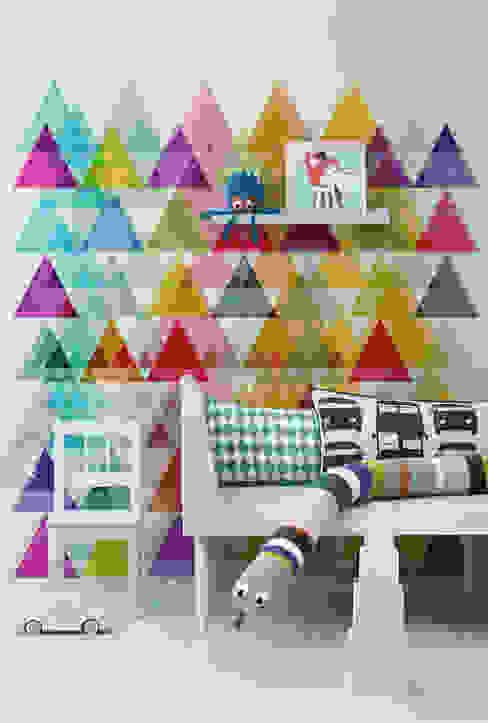 Triangles Chambre d'enfant minimaliste par Pixers Minimaliste