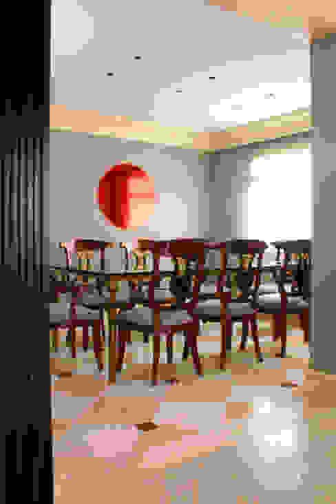 Sala de jantar - Depois por Brunete Fraccaroli Arquitetura e Interiores