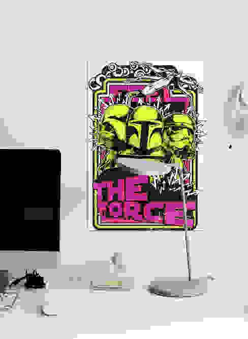 The Force Oficinas de estilo moderno de Pixers Moderno