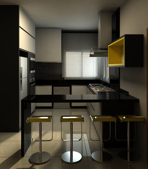 Kitchen by A&B Arquitetura