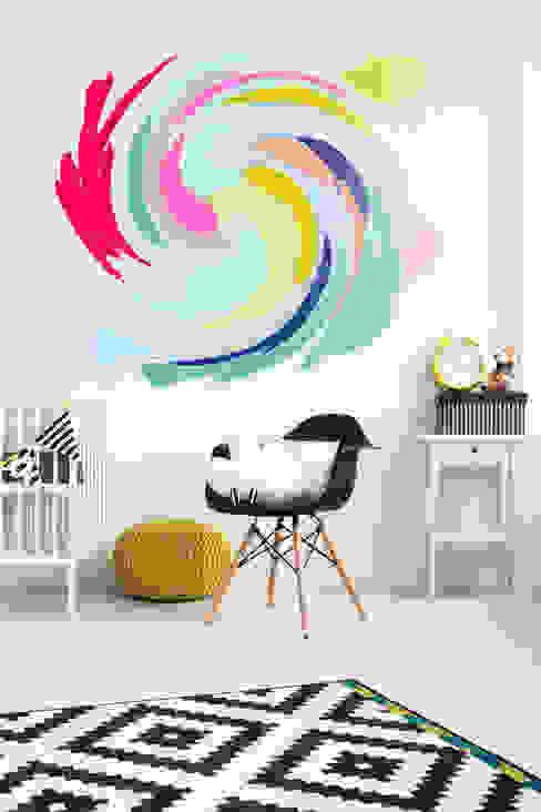 Swirl Cuartos infantiles de estilo ecléctico de Pixers Ecléctico