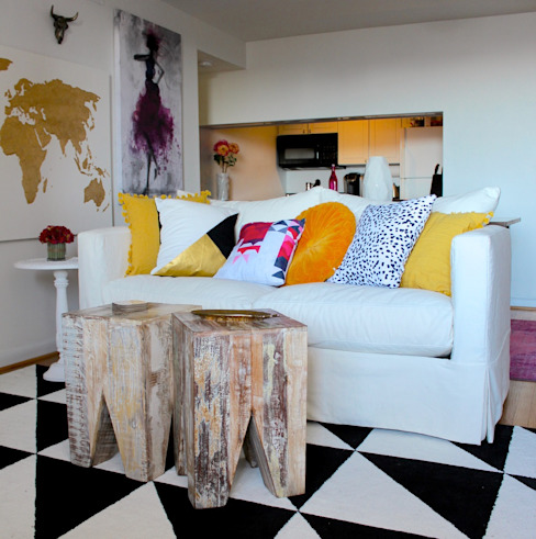 Bright and Eclectic Foggy Bottom Apartment by NAFASI Eclectic