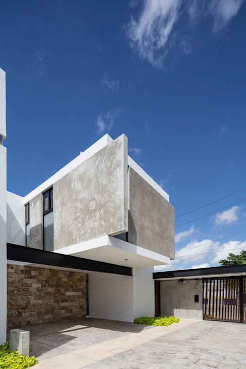 EZ4 Casas modernas de P11 ARQUITECTOS Moderno